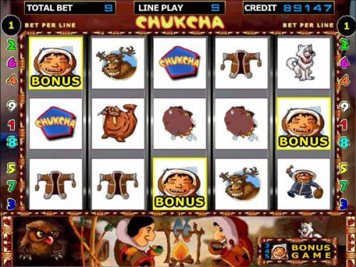 ігровий онлайн-автомат Chukcha